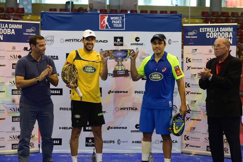 Campeones World Padel Tour Córdoba Gana, pero juega mal
