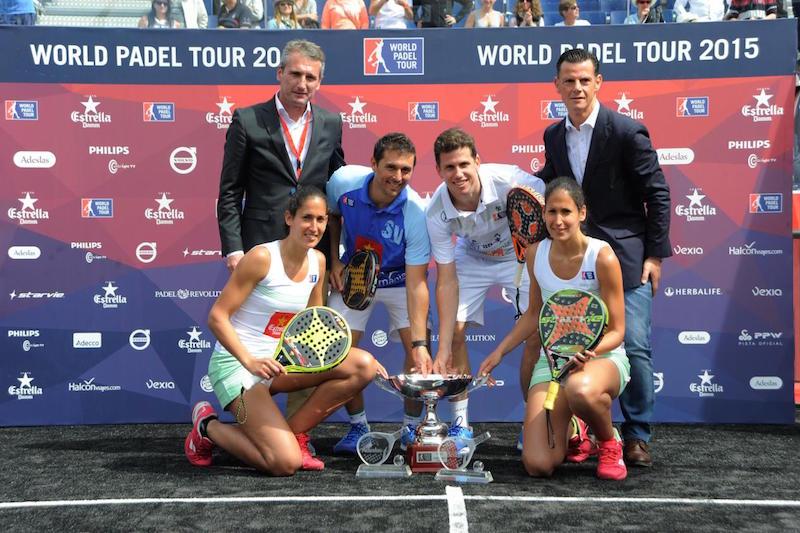 Vencedor@s Master World Padel Tour Barcelona