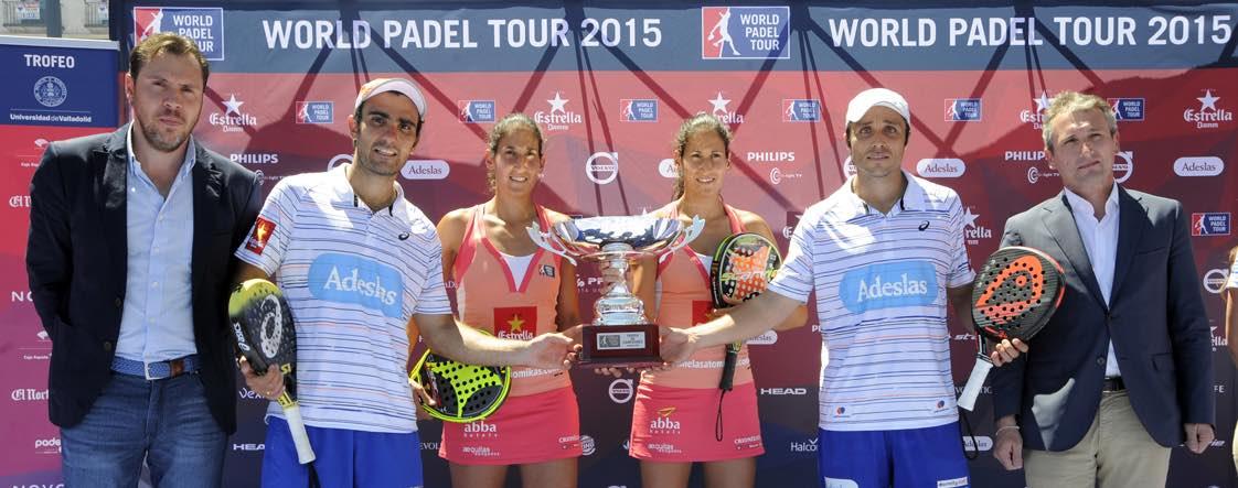 Finales World Padel Tour Valladolid campeones