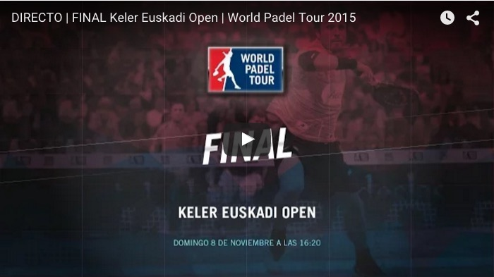 Final World Padel Tour Euskadi 2015