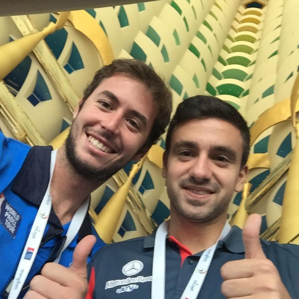 Aris Patiniotis y Toni Bueno, nueva pareja World Padel Tour 2016