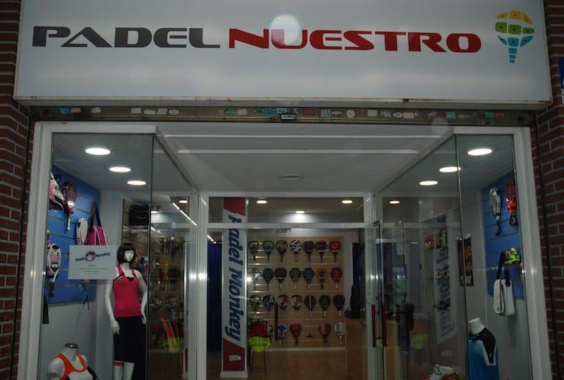 Padel Nuestro abre nueva tienda de pádel en Majadahonda
