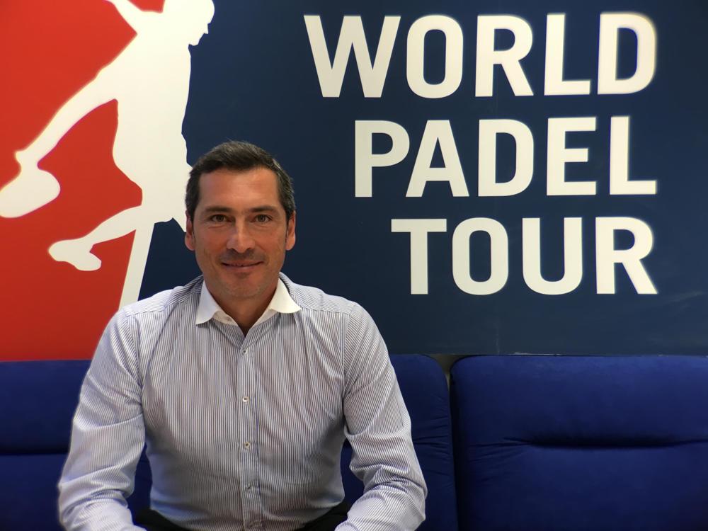 Angel Rodríguez nuevo responsable de comunicación de World Padel Tour