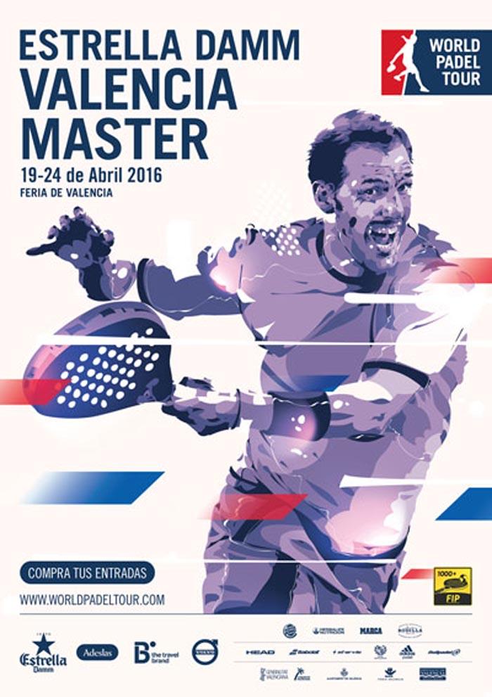 Inscritos y ranking masculino Máster World Padel Tour Valencia 2016