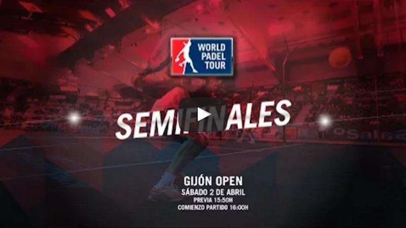 Semifinales World Padel Tour Gijón 2016 en directo
