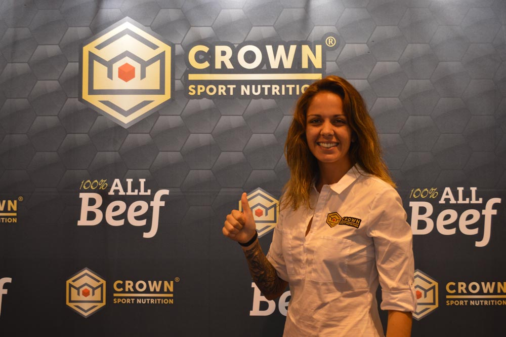 Crown Sport Nutrition apoya a una de las grandes promesas del pádel español, Alba Galán