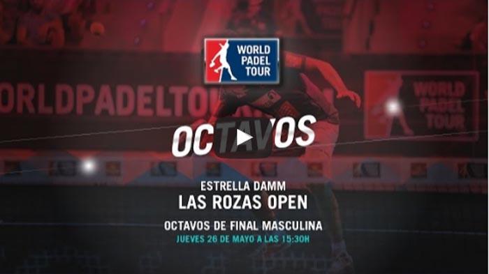 Octavos World Padel Tour Las Rozas 2016 en directo