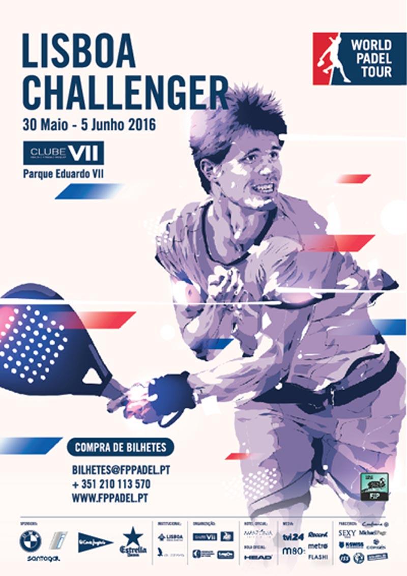 Cuadros y horarios World Padel Tour Challenger Lisboa 2016
