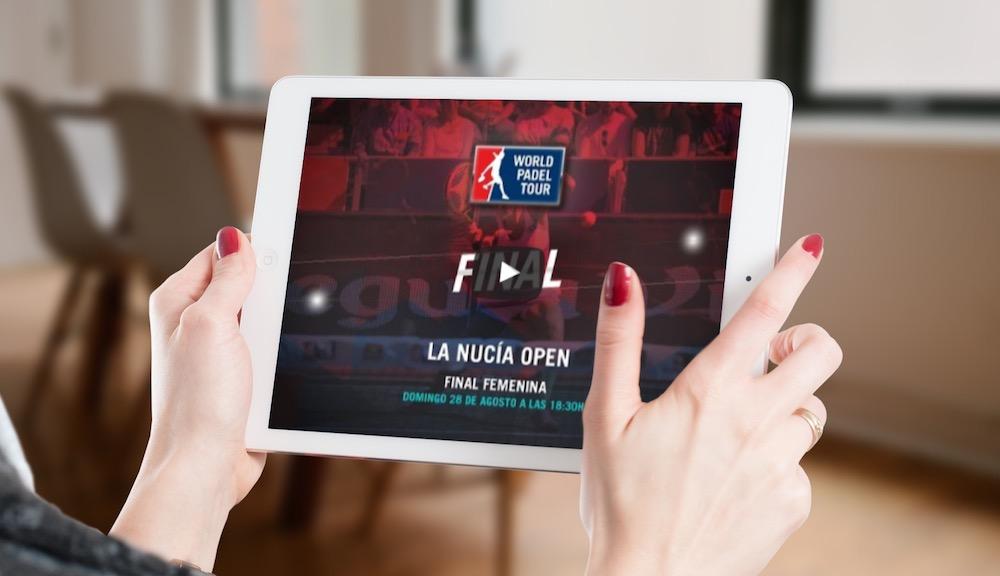 Final World Padel Tour La Nucia 2016 en directo y online