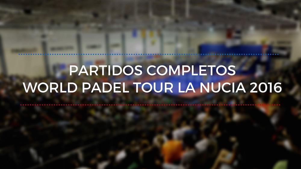 Partidos completos WPT La Nucia 2016