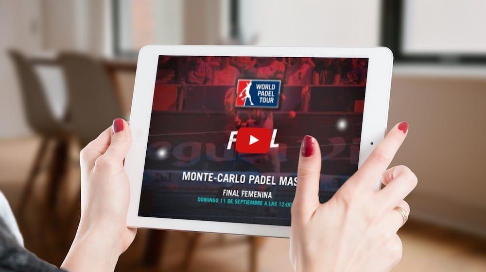 Final femenina Monte-Carlo Pádel Máster 2016 en directo y online