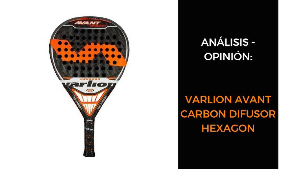 Varlion Avant Carbon Difusor Hexagon