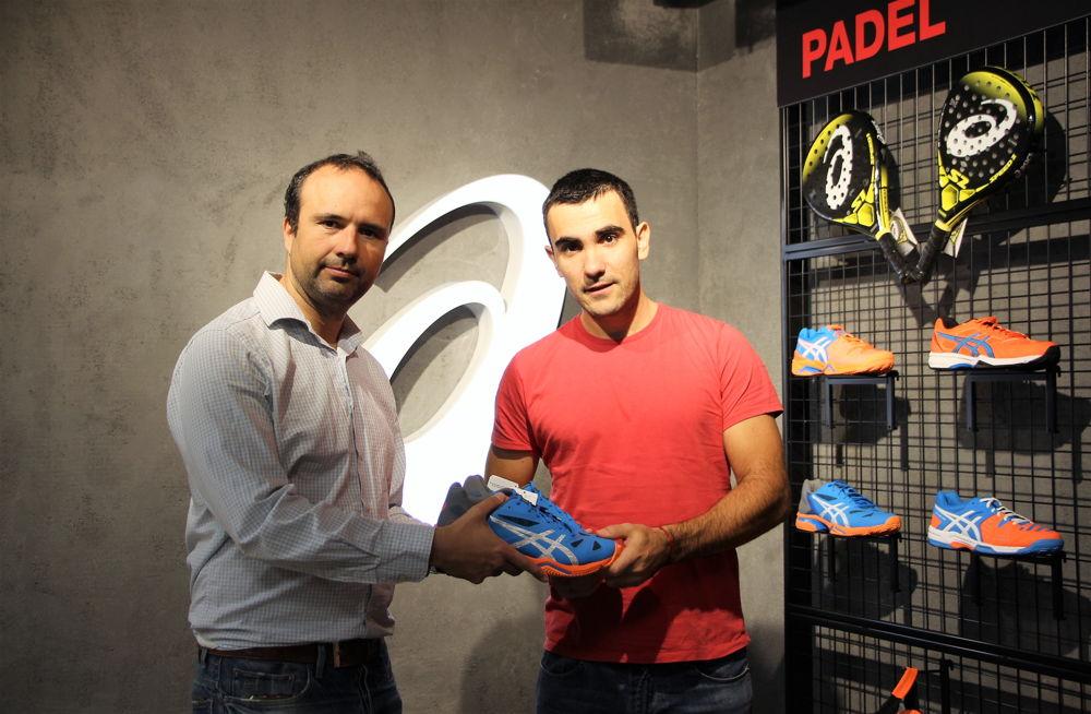 Emilio Risques y Pablo Lima 2 Asics GEL-LIMA PADEL, unas zapatillas para grandes jugadores