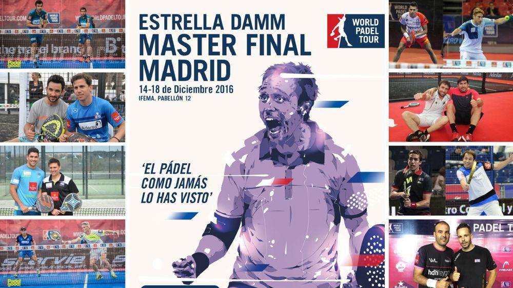 Parejas Master WPT Final 2016 Parejas y ranking masculino Master final World Padel Tour 2016