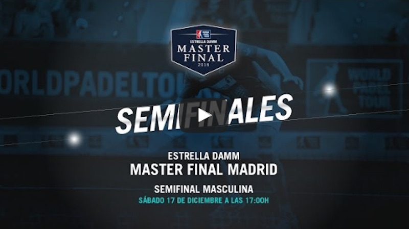 Semis masculina Master WPT 2016 Partidos completos Máster Final WPT 2016