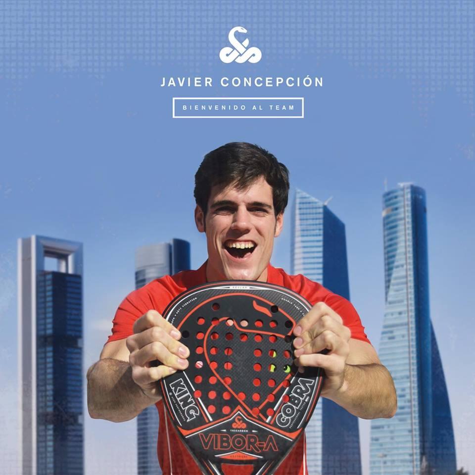 Javi Concepcion Vibora Javier Concepción, nuevo jugador Vibor-a Padel