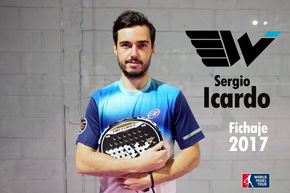 Sergio Icardo Sergio Icardo, nuevo fichaje de Wingpadel
