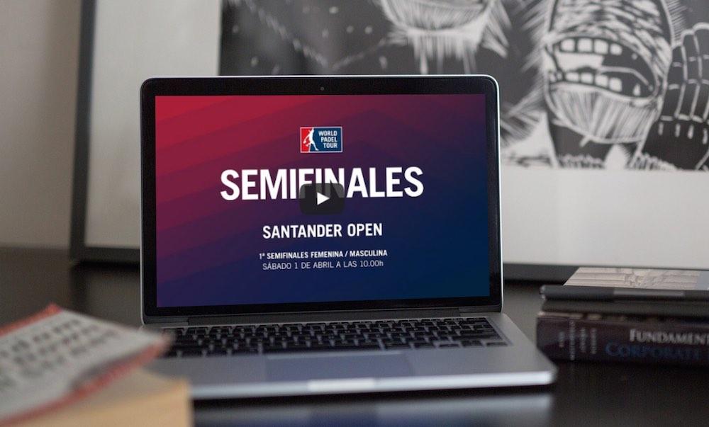 Semifinales1 WPT Santander 2017 Semifinales turno mañana World Padel Tour Santander 2017 en directo y online