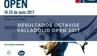 Resultados octavos de final World Padel Tour Valladolid 2017