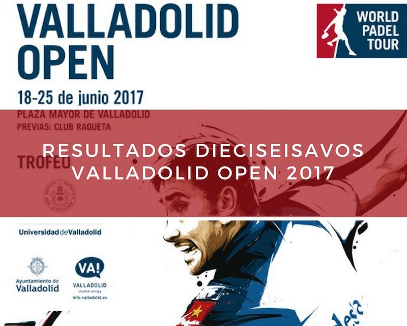 Resultados dieciseisavos de final World Padel Tour Valladolid 2017 Resultados dieciseisavos de final World Padel Tour Valladolid 2017