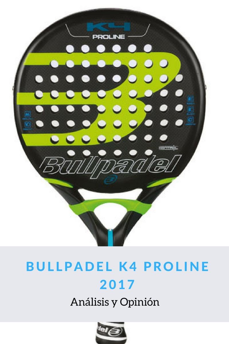 Bullpadel K4 Proline 2017