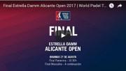 Finales World Padel Tour Alicante 2017 en directo y online