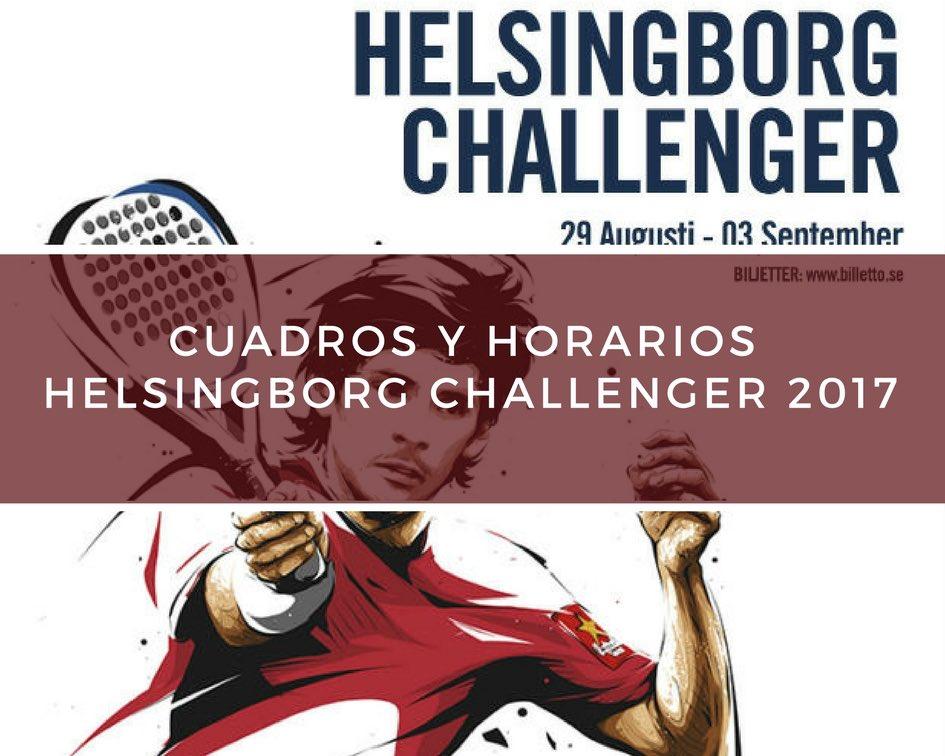 Helsingborg Challenger 2017 Cuadros y horarios World Padel Tour Challenger Helsingborg 2017