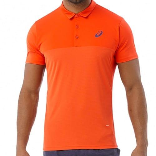 polo asics naranja 2017 Asics unifica todos sus colores en la colección de invierno