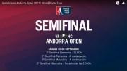 En directo y online semifinales femeninas World Padel Tour Andorra 2017