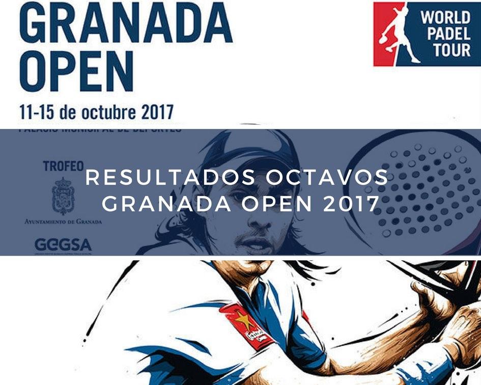 Resultados octavos de final World Padel Tour Granada 2017