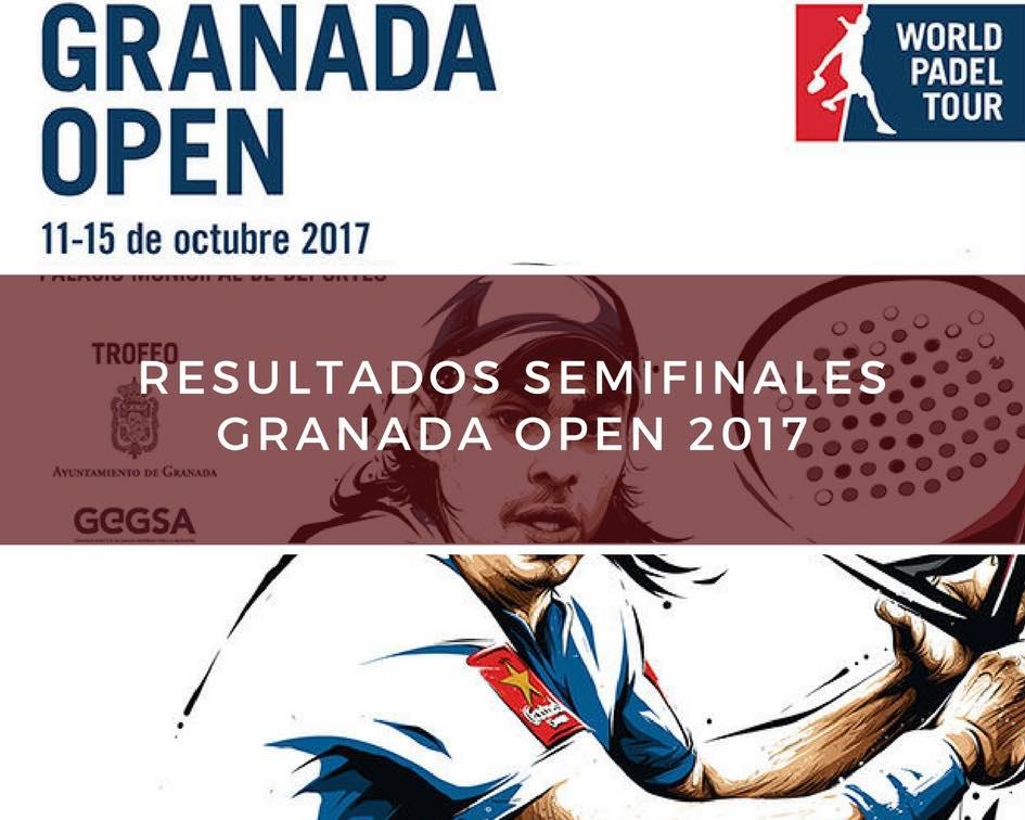 Resultados semifinales World Padel Tour Granada 2017