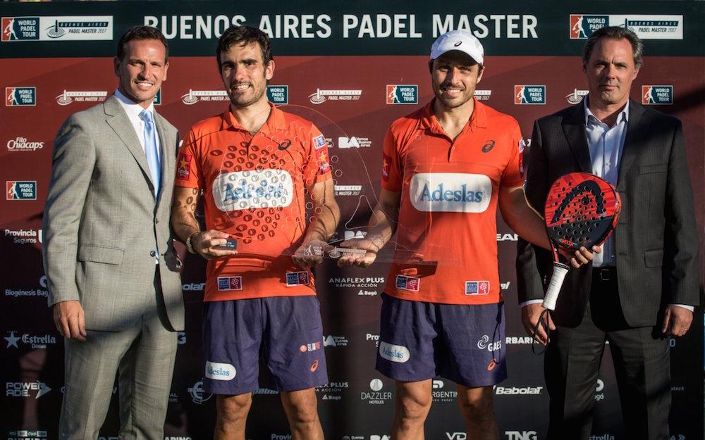 Campeones Buenos Aires 2017 Los Nº1, Bela-Lima, se coronaron en el Buenos Aires Padel Master 2017