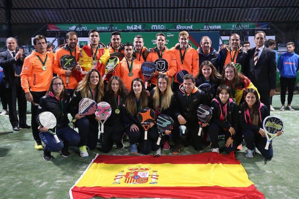 España campeona de Europa Pleno de títulos para España en el XI Campeonato Europeo de Padel