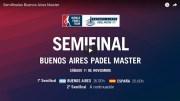 En directo y online semifinales Máster World Padel Tour Buenos Aires 2017