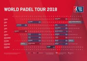 Calendario oficial World Padel Tour 2018
