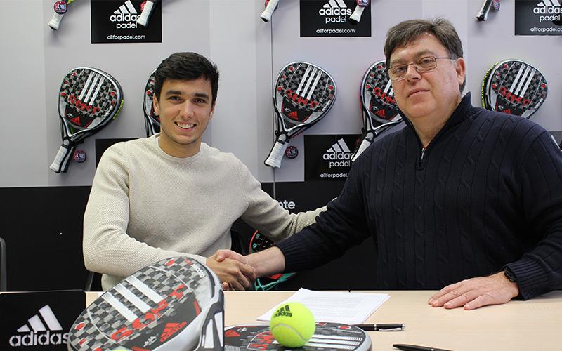 Ale Galán, nuevo jugador adidas