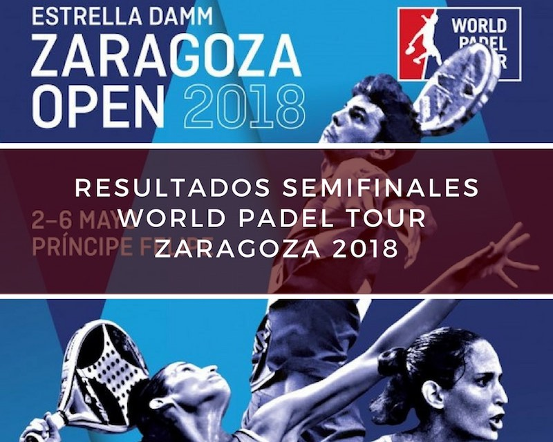 Resultados semifinales World Padel Tour Zaragoza 2018