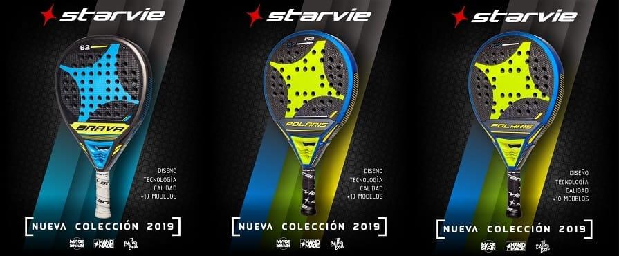 StarVie 2019 2 Nueva colección de palas StarVie 2019