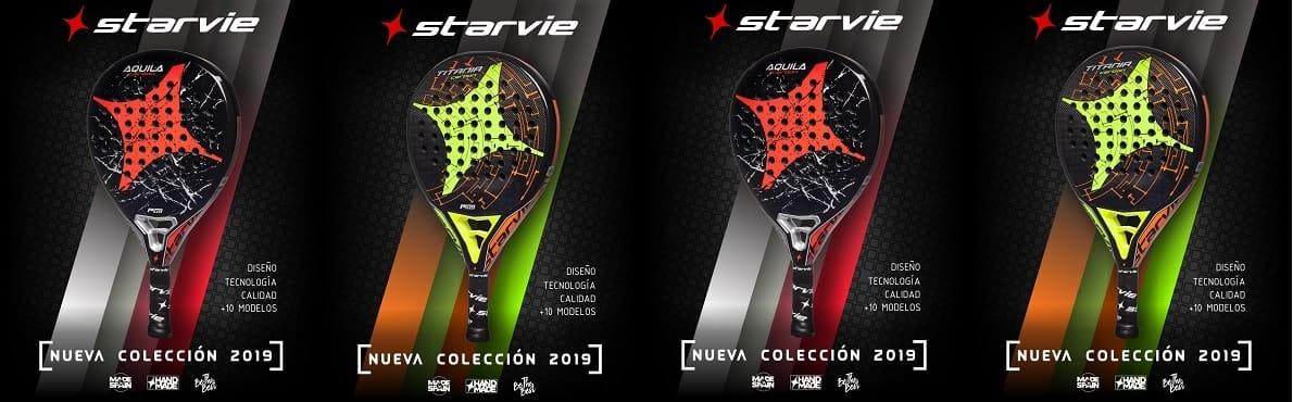 StarVie 2019 3 Nueva colección de palas StarVie 2019