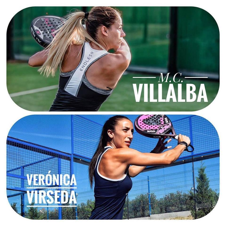 Virseda Villalba Mari Carmen Villalba - Verónica Virseda, nueva pareja World Padel Tour 2019