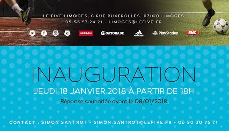 Inauguration Of The Five Limoges And Its 2 Padel Padel Magazine