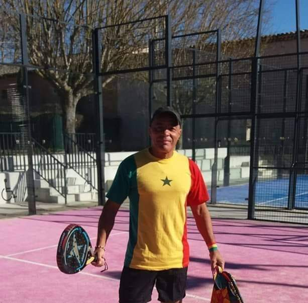 Philippe Apack tennis padel sans frontieres senegal