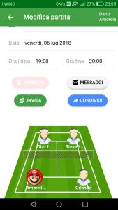Partecipa alle partite in completamento