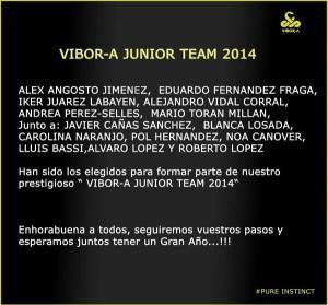 Vibor-A Team Junior 2014