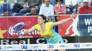Alejandra Salazar, en el Estrella Damm Barcelona Open