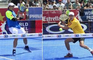 Juan Martín Díaz-Fernando Belasteguín, ganadores del Estrella Damm Barcelona Open