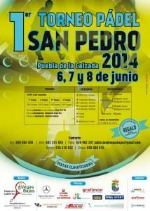 Cartel del Torneo San Pedro