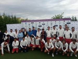 Foto de grupo del Torneo Clínica Menorca
