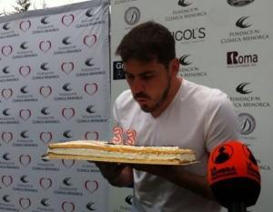 Iker Casillas celebra su cumpleaños junto a Varlion (Torneo Clínica Menorca)
