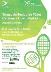 Torneo Cetelem - Down Madrid